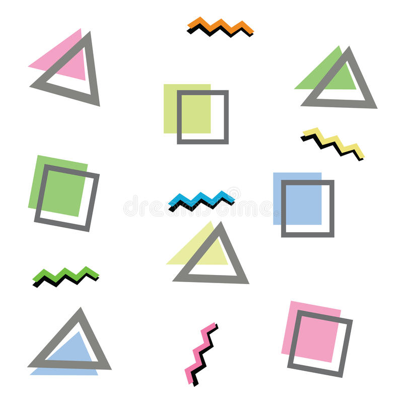 geometrie stockbild