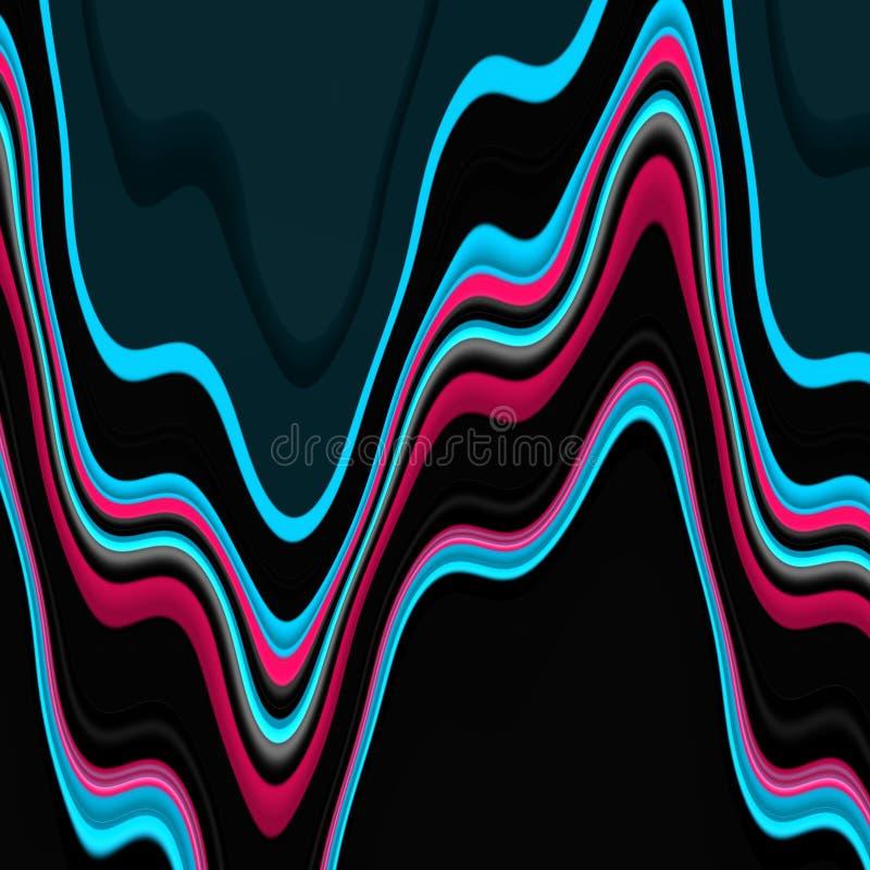 Geometrie, rzadkopłynni kształty, grafika, abstrakcjonistyczny tło ilustracji