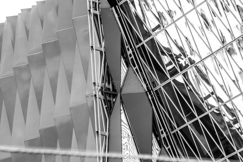 Geometrie und Archtecture stockbilder