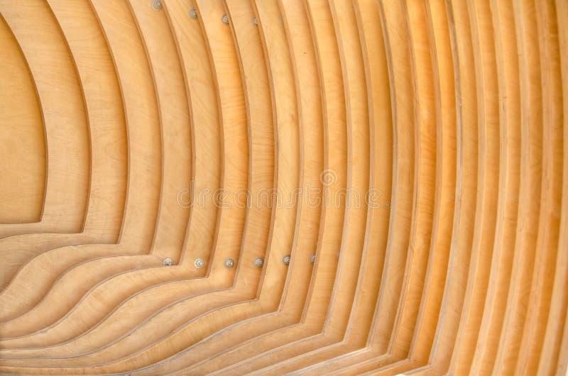 Geometrie von hölzernen Brettern stockfotografie