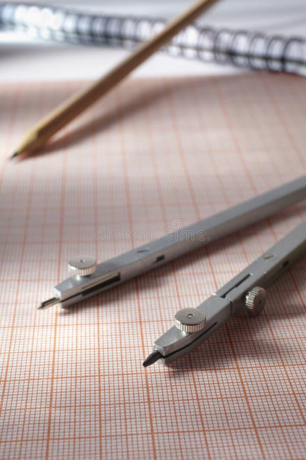 geometrii narzędzia obraz stock