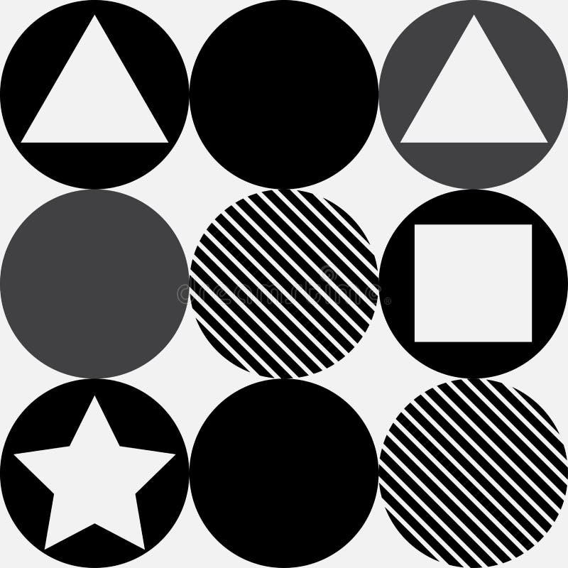Geometrimodellbakgrund royaltyfria bilder