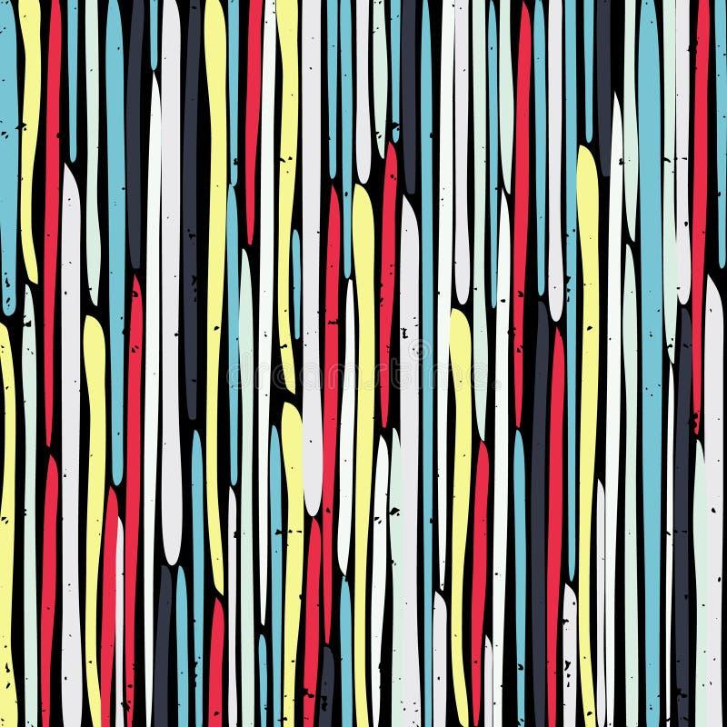 Geometrisch abstract kleurenpatroon in graffitistijl kwaliteits vectorillustratie voor uw ontwerp royalty-vrije illustratie