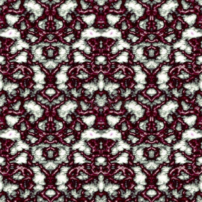Geometrisch abstract naadloos patroon met 3d hulpeffect royalty-vrije stock afbeeldingen
