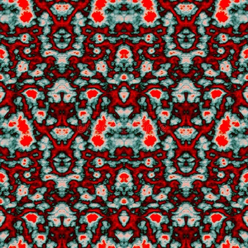 Geometrisch abstract naadloos patroon met 3d hulpeffect stock fotografie
