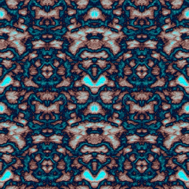 Geometrisch abstract naadloos patroon met 3d hulpeffect royalty-vrije stock fotografie