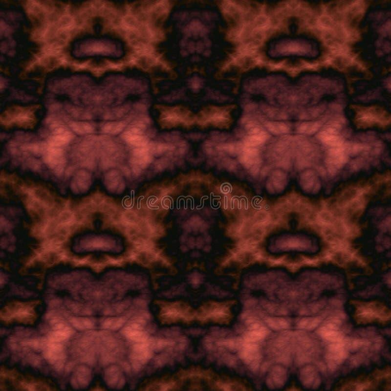 Geometrisch abstract naadloos patroon met 3d hulpeffect stock afbeeldingen