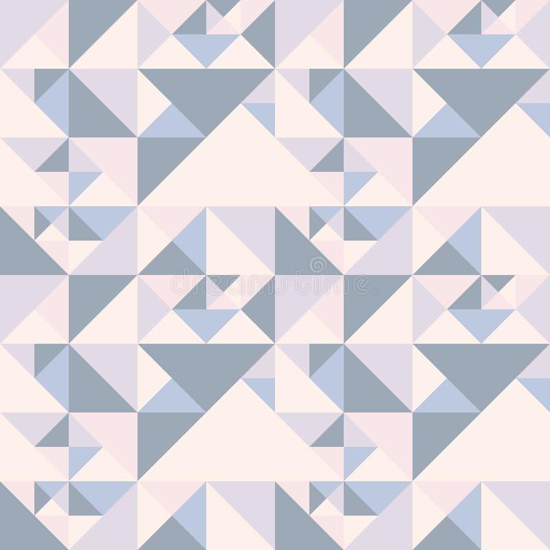 Geometrisch abstract patroon vector illustratie