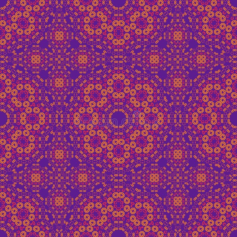 Geometrisch gebreid als royalty-vrije illustratie