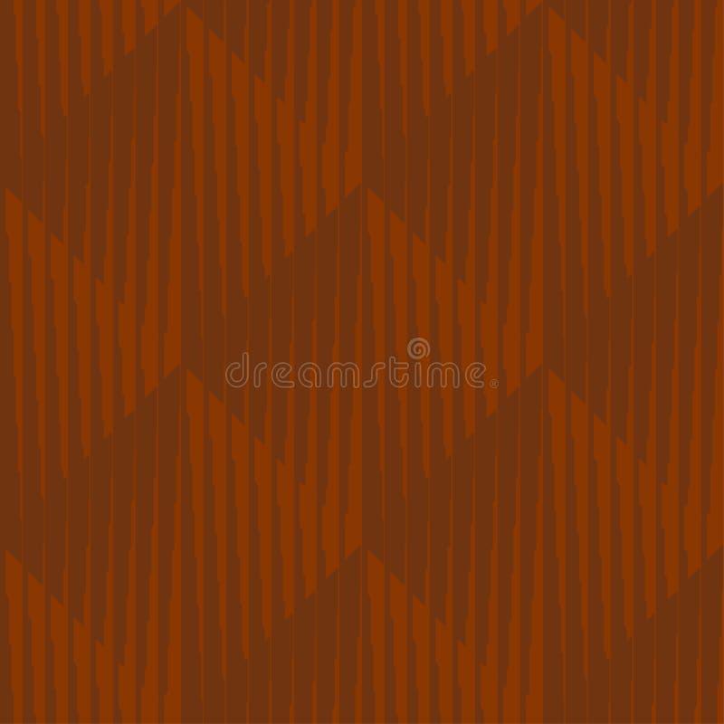 Geometrisch gestreept ruit minimaal naadloos patroon stock illustratie