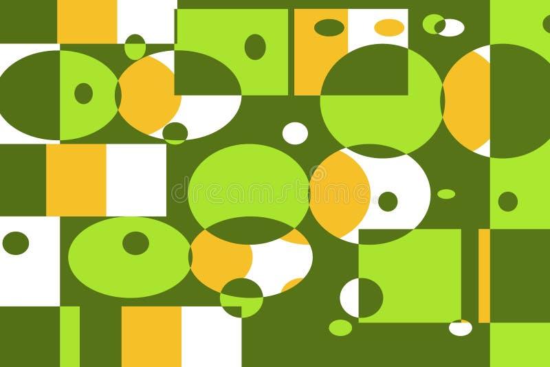 Geometrisch Grafisch Patroon stock illustratie