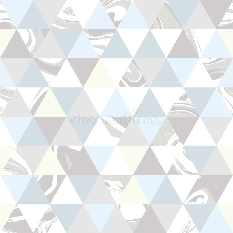 Geometrisch marmeren naadloos patroon vector illustratie