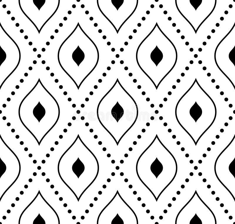 geometrisch naadloos patroon abstracte achtergrond stock illustratie