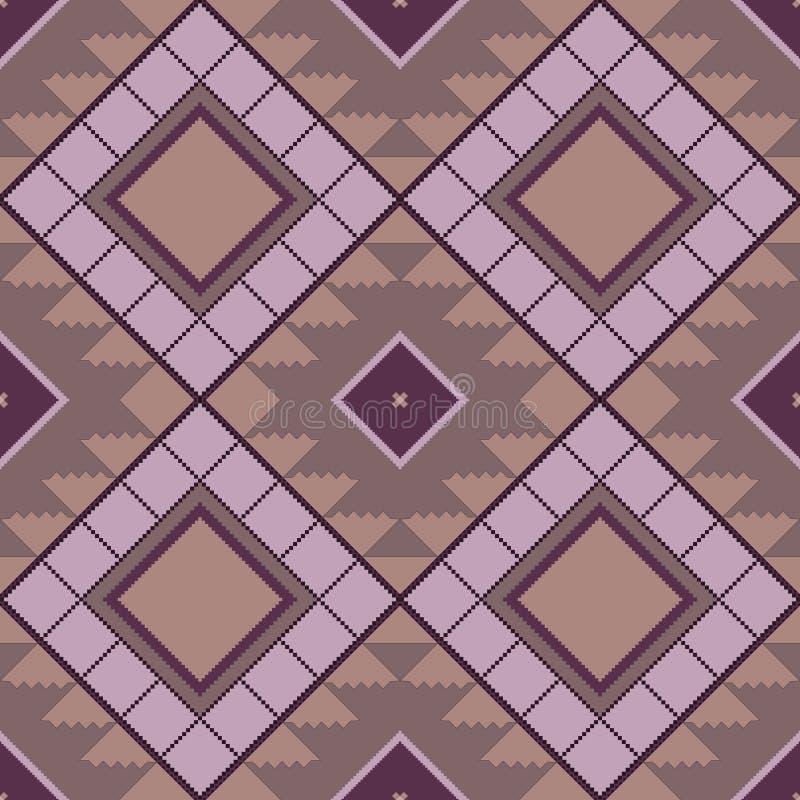 Geometrisch naadloos patroon in de Witrussische stijl vector illustratie