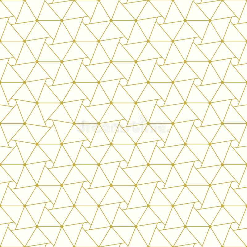 geometrisch naadloos patroon Kan voor achtergronden worden gebruikt en de pagina vult de illustratie van het Webontwerp vector illustratie