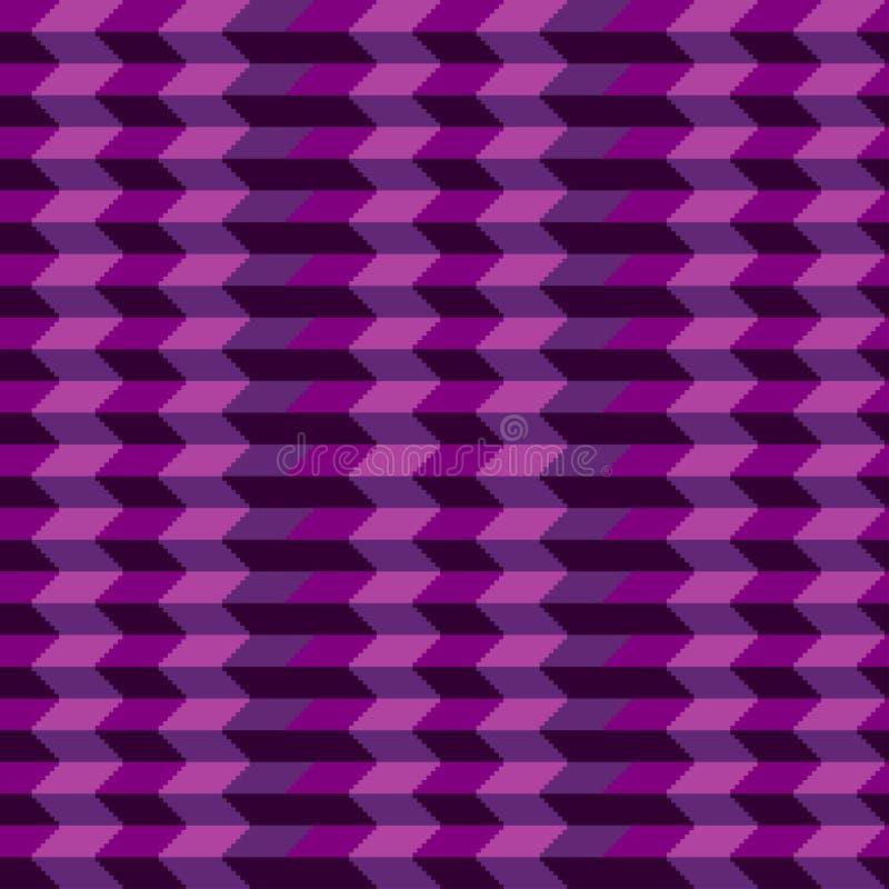 Geometrisch naadloos patroon met streep en driehoeks abstracte achtergrond, geometrische achtergrond, het patroon van zigzagpijle vector illustratie