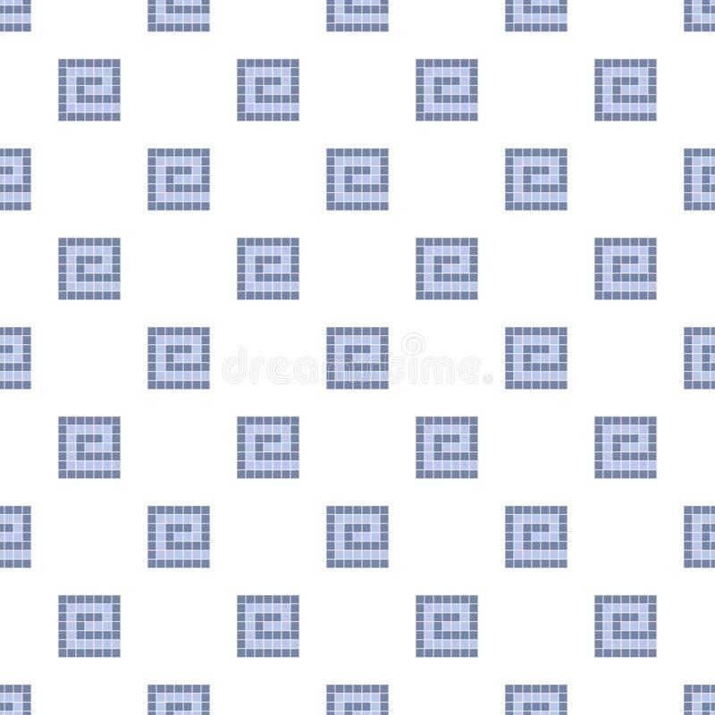 geometrisch naadloos patroon moderne modieuze textuur Vector illustratie stock illustratie