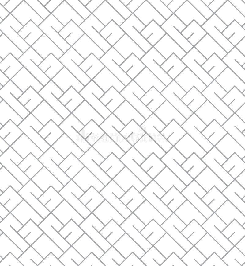 Geometrisch Naadloos Vectorpatroon voor Webachtergrond royalty-vrije stock foto