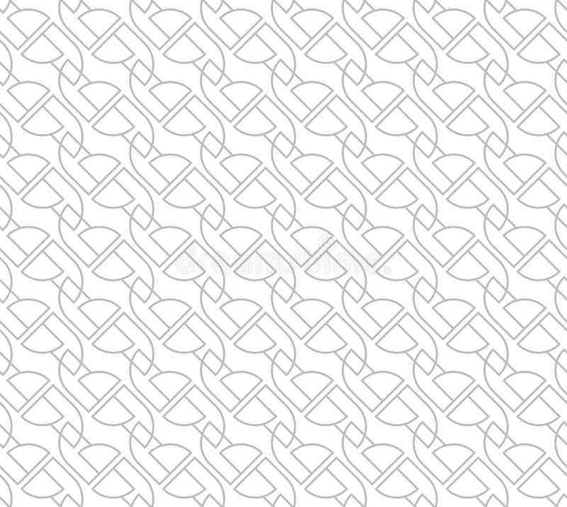 Geometrisch Naadloos Vectorpatroon voor Webachtergrond royalty-vrije stock foto's