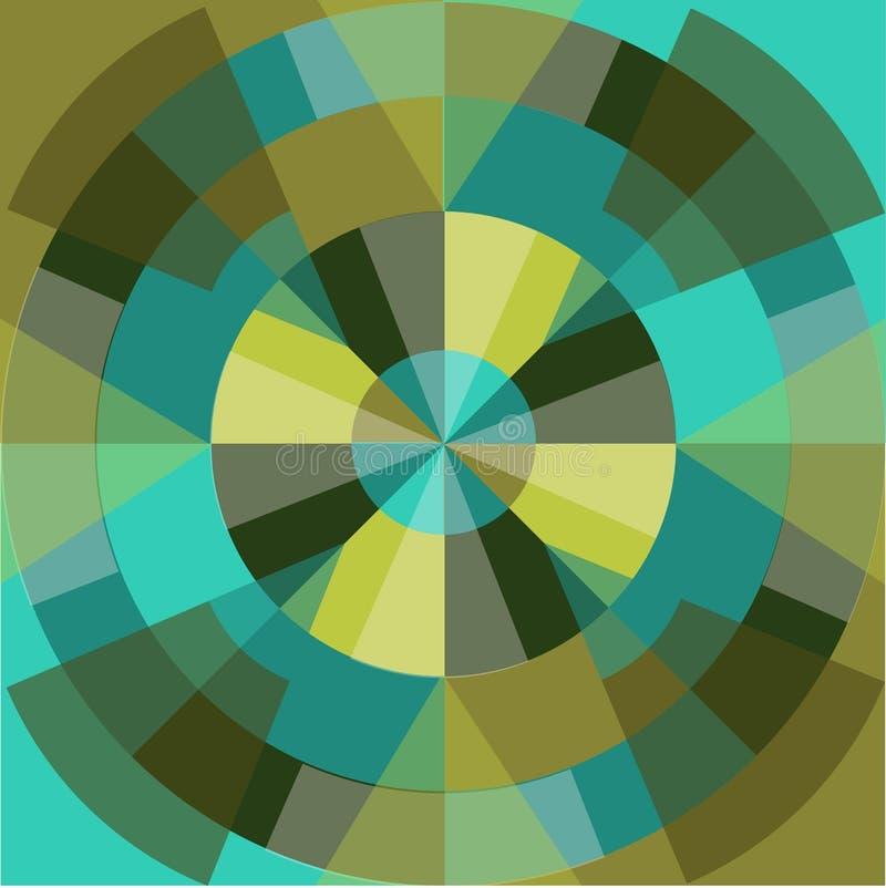 Geometrisch patroon stock illustratie