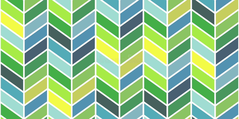Geometrisch Patroon Als achtergrond Onbeperkte vectorachtergrond royalty-vrije illustratie