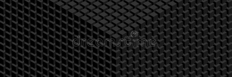 Geometrisch patroon met groot scherm royalty-vrije illustratie