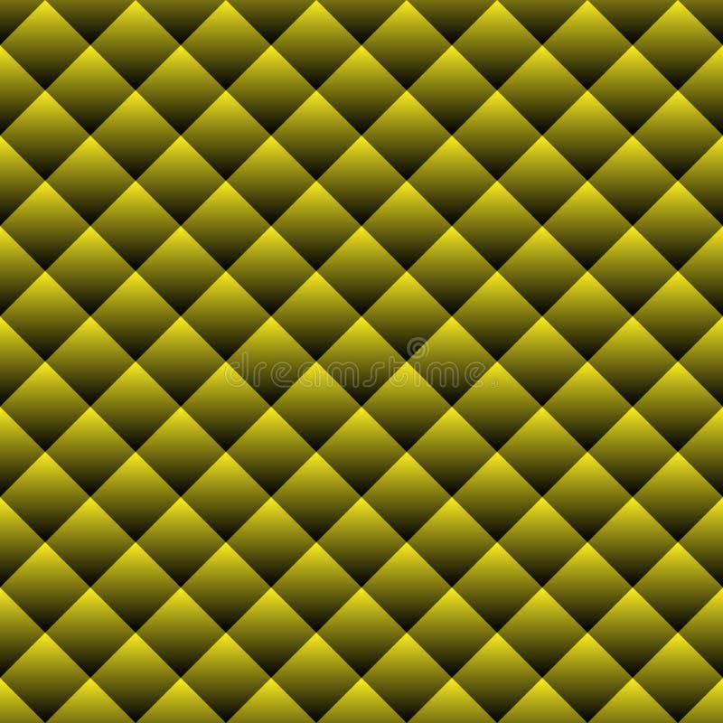 Geometrisch vierkant naadloos patroon Manier grafisch ontwerp Vector illustratie Basisillustratie voor advertenties! plaats een b stock illustratie
