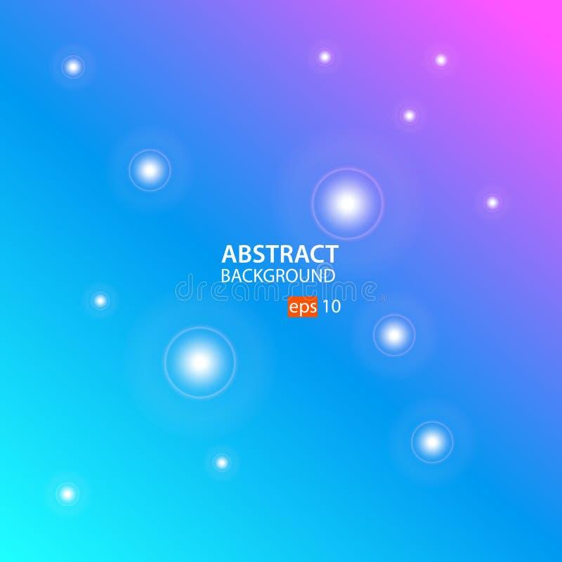 Geometrische abstracte vector als achtergrond met Cyaan, Blauw, Roze royalty-vrije illustratie