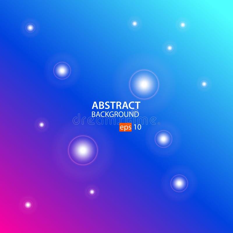 Geometrische abstracte vector als achtergrond met Roze, Blauw, Cyaan vector illustratie
