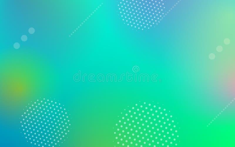 Geometrische abstracte vectorgradiëntachtergrond vector illustratie