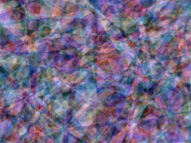 Geometrische abstrakte Hintergrund-Beschaffenheits-Mehrfarbentapete lizenzfreie stockfotografie