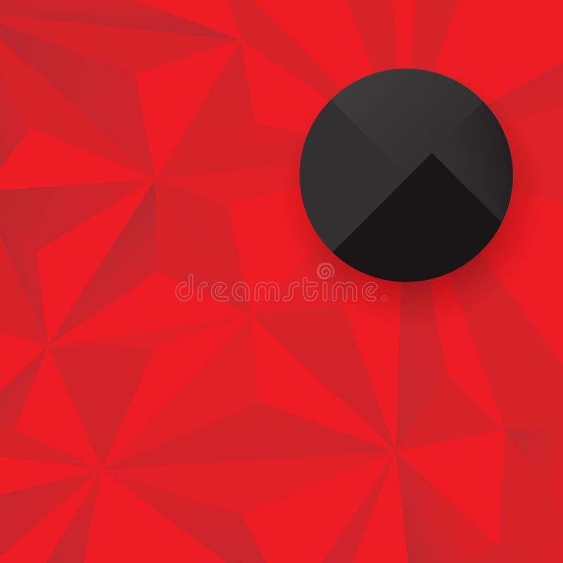 Geometrische achtergrond voor dekkingsontwerp vector illustratie