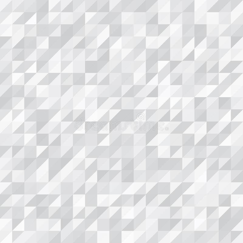 Geometrische Achtergrond Wit en Grey Triangles stock fotografie