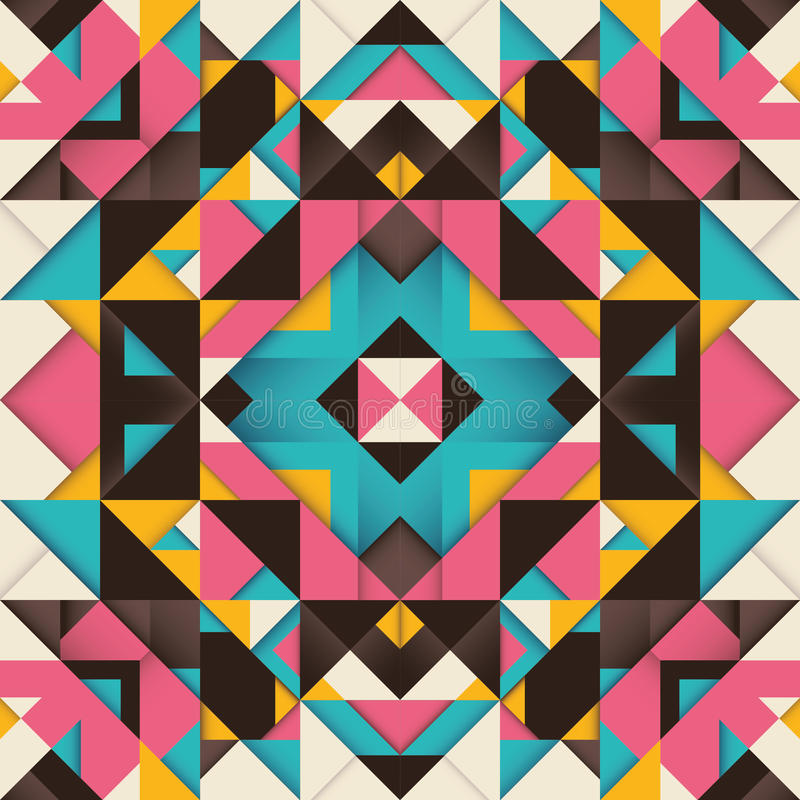 Geometrische arabesque. vector illustratie