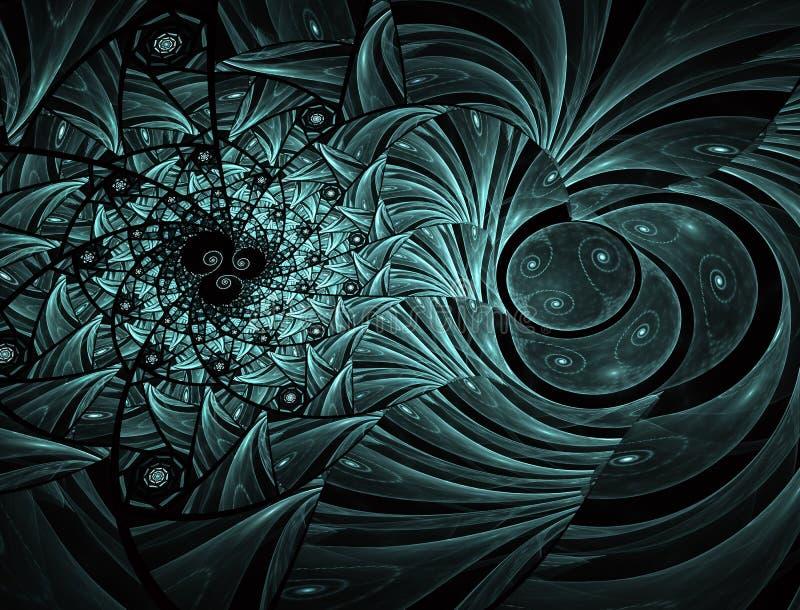 Geometrische Auslegung Mosaik-Buntglasbeschaffenheit stock abbildung