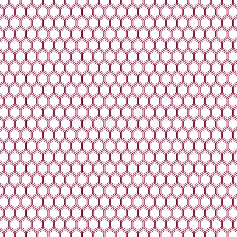 Geometrische banddruk stock illustratie