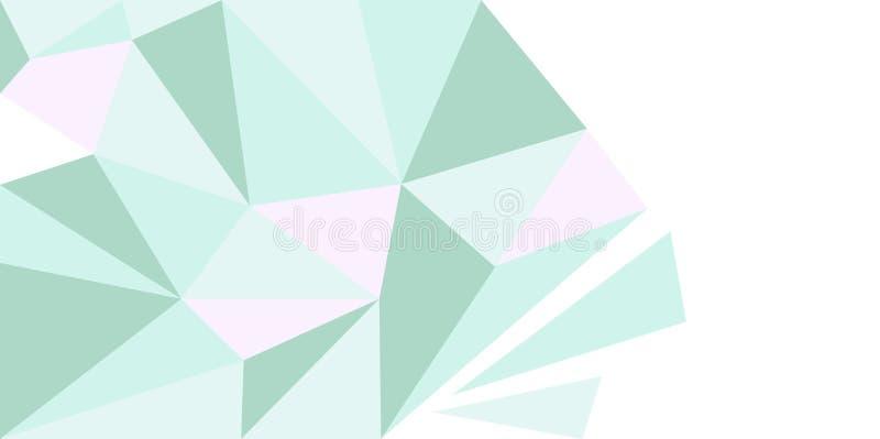 Geometrische Banner stock illustratie
