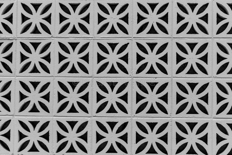 Geometrische Betonblöcke stockfotografie