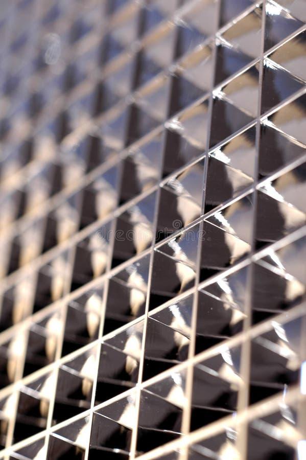 Geometrische Bezinning royalty-vrije stock foto