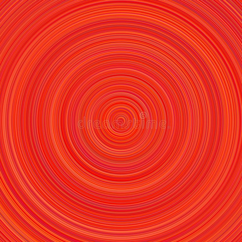 Geometrische concentrische cirkelachtergrond - abstract vectorontwerp stock illustratie