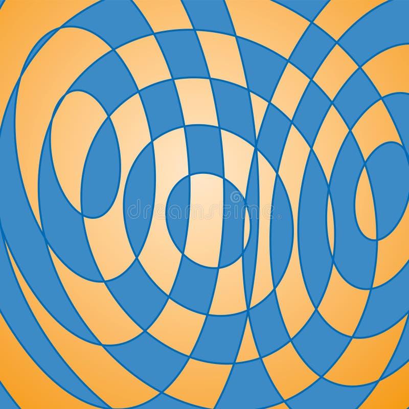 Geometrische decoratie (vector) royalty-vrije illustratie