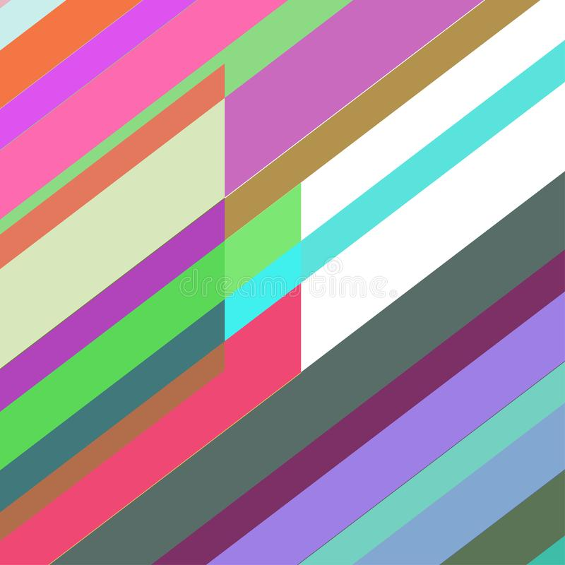 Geometrische elementenachtergrond Moderne abstracte ontwerpaffiche, stock foto