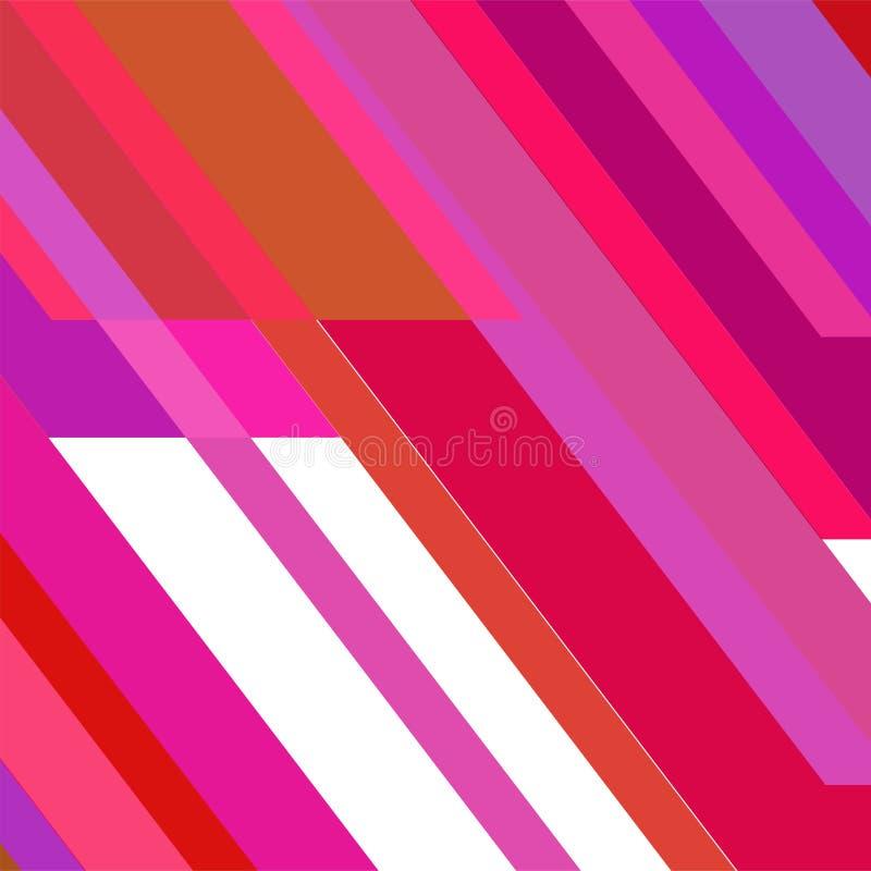 Geometrische elementenachtergrond Moderne abstracte ontwerpaffiche, stock afbeelding