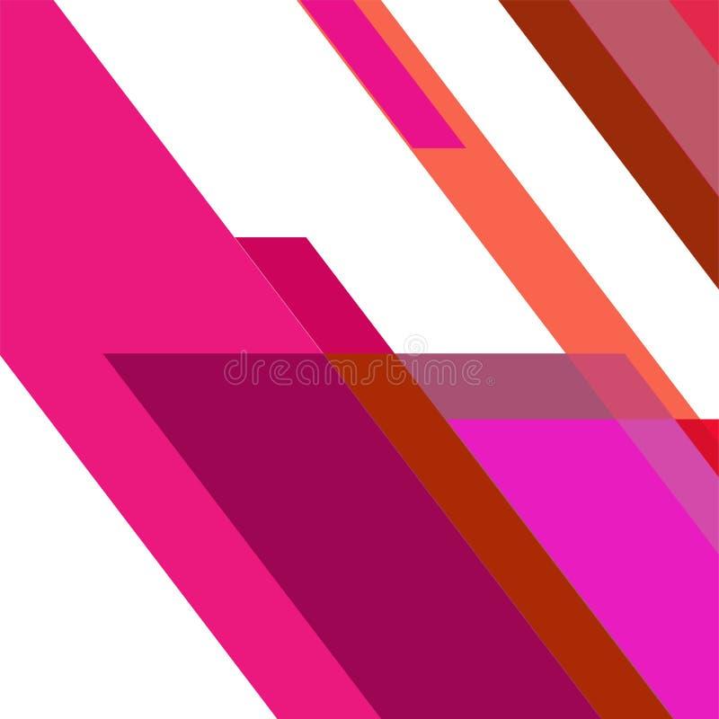 Geometrische elementenachtergrond Moderne abstracte ontwerpaffiche, royalty-vrije stock fotografie