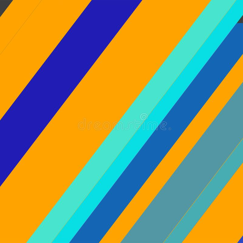 Geometrische elementenachtergrond Moderne abstracte ontwerpaffiche, royalty-vrije stock afbeelding