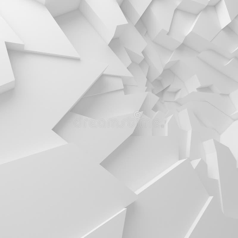 Geometrische Farbzusammenfassungspolygone tapezieren, als Sprungswand vektor abbildung