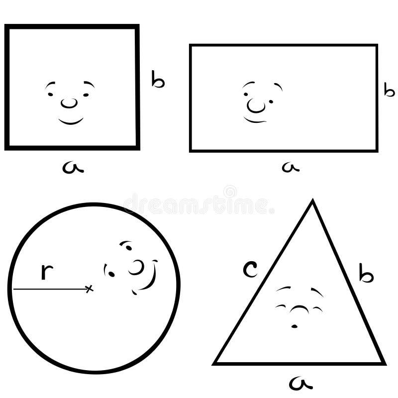 geometrische formen vektor abbildung illustration von quadrat 18172917. Black Bedroom Furniture Sets. Home Design Ideas
