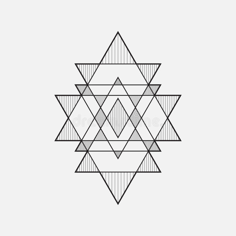 Geometrische Formen vektor abbildung