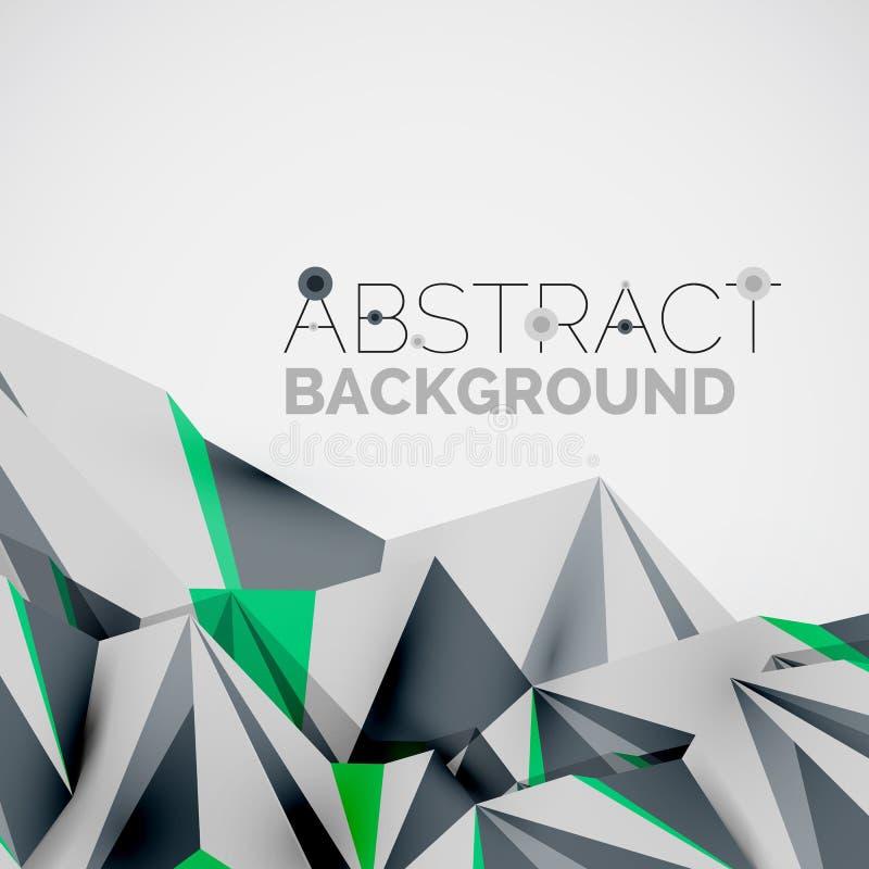 geometrische formen in der luft 3 d vektor abbildung illustration von dekoration modern 57732087. Black Bedroom Furniture Sets. Home Design Ideas