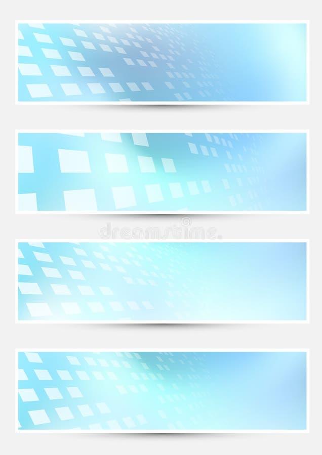 Geometrische helle abstrakte Halbtonkarten lizenzfreie abbildung